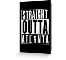 The walking dead - Atlanta (rick) Greeting Card
