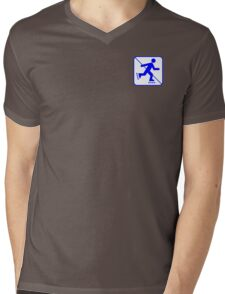 RULE ZERO (NO SKATING!!!) PHI BETA SIGMA - EA Mens V-Neck T-Shirt