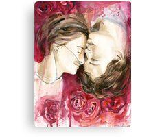 Hazel and Augustus Canvas Print