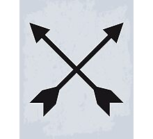 Hipster Crossed Arrows Photographic Print