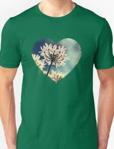 Queen Annes Lace flowers Unisex T-Shirt