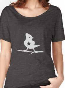 Gomezink Blue Jay_white Women's Relaxed Fit T-Shirt