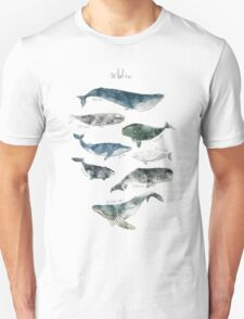 Whales Unisex T-Shirt