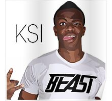 SIDEMEN XIX CLOTHING-LIMITED EDITION - KSI Poster