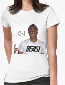 SIDEMEN XIX CLOTHING-LIMITED EDITION - KSI Womens Fitted T-Shirt