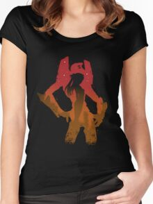 Evangelion Women's Fitted Scoop T-Shirt