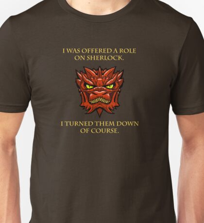 Smaug Quotes-Colbert Report- Sherlock Unisex T-Shirt