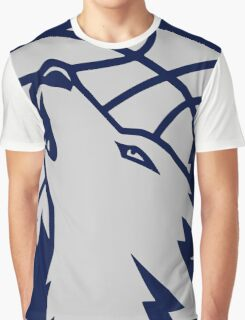 Minnesota timberwolves grey Graphic T-Shirt