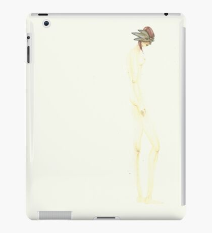 Naked masquerade iPad Case/Skin