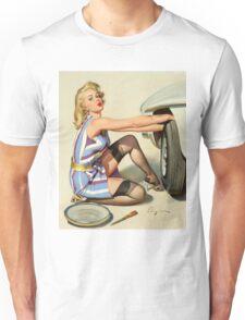 Gil Elvgren Appreciation T-Shirt no. 02 Unisex T-Shirt