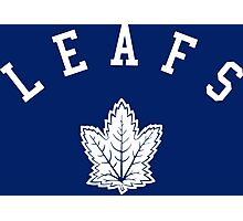 Leafs hockey teams Photographic Print