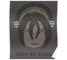 Toph Quotes Poster