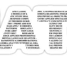 Math Text Sticker