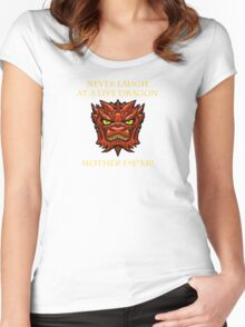 Smaug Quotes-Colbert Report- never laugh Women's Fitted Scoop T-Shirt