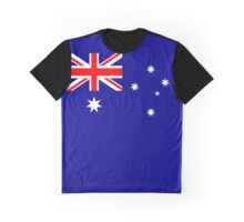 Flag of Australia Graphic T-Shirt