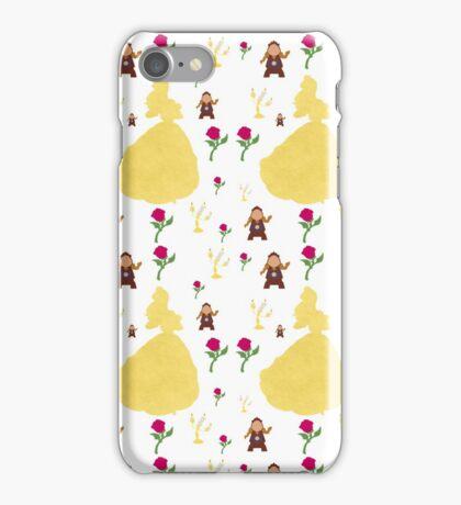 Beauty & The Beast Pattern iPhone Case/Skin