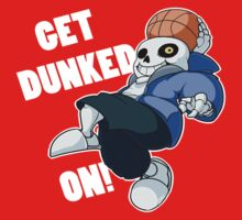 Sans - Undertale - GET DUNKED ON! Baby Tee