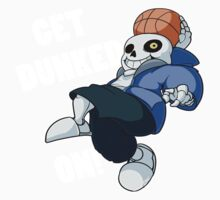 Sans - Undertale - GET DUNKED ON! One Piece - Short Sleeve