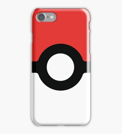 Pokeball square iPhone Case/Skin