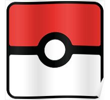 Pokeball square Poster