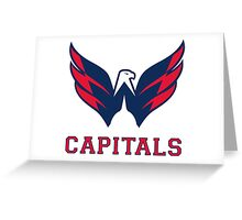 capitals sport Greeting Card