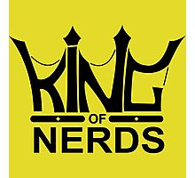 King of Nerds Photographic Print