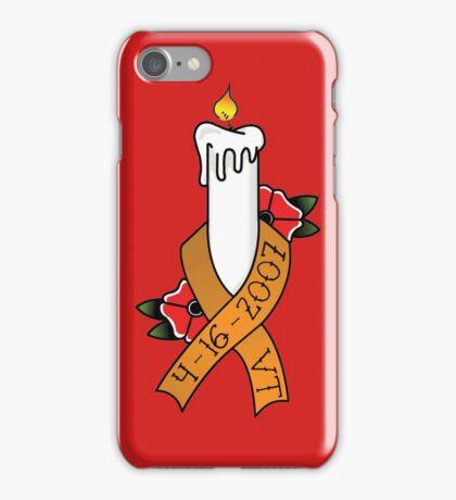 Virginia Tech Awareness Ribbon iPhone Case/Skin