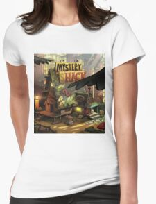 Mystery shack Womens Fitted T-Shirt