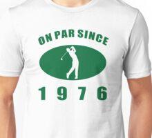 1976 Golfer's Unisex T-Shirt