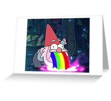 Gnome Rainbow Greeting Card