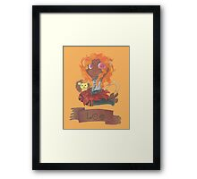 Leo Seedling Framed Print