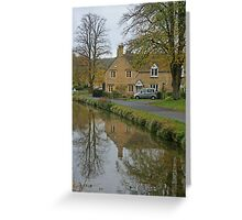 Lower Slaughter Greeting Card