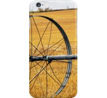 On Golden Fields iPhone Case/Skin