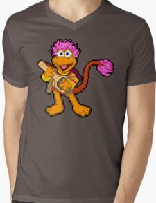 Down at Pixel Rock - Gobo Mens V-Neck T-Shirt