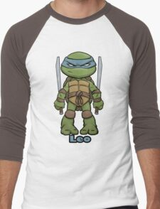 "Leo ""TMNT"" Men's Baseball ¾ T-Shirt"