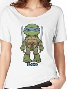 "Leo ""TMNT"" Women's Relaxed Fit T-Shirt"