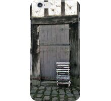 Old chair, Monsalvat Artist's Colony, Eltham  iPhone Case/Skin