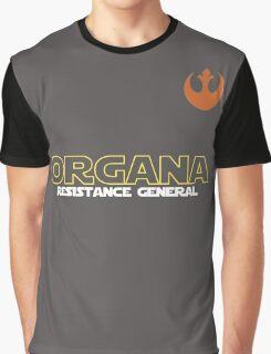 General Organa Soccer/Football Shirt Graphic T-Shirt