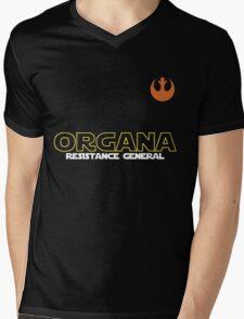 General Organa Soccer/Football Shirt Mens V-Neck T-Shirt