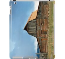 Historic Timber Barn iPad Case/Skin