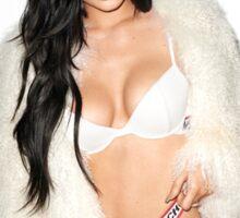 Kylie Jenner Fan Art photo fur  Sticker