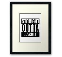 Star Wars - Straight Outta Jakku Framed Print