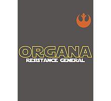 General Organa Soccer/Football Shirt Photographic Print