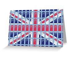 Tardis Jack Greeting Card