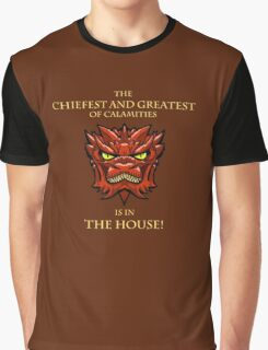 Smaug Quotes-Colbert Report- in the house Graphic T-Shirt