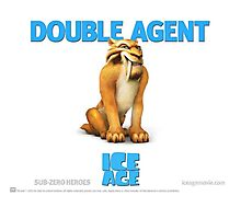 Double Agent Diego - Ice Age Photographic Print