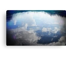 Clouds in the Pond Canvas Print