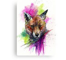 Cunning Mr Fox Canvas Print