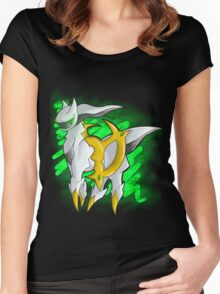 Arceus Women's Fitted Scoop T-Shirt
