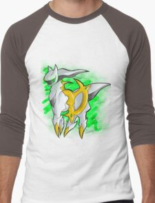 Arceus Men's Baseball ¾ T-Shirt